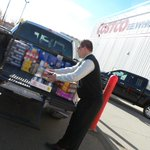 Hey @LochlinCross are you ready to help us fill some #Ford trucks with food for @yegfoodbank? #yeg #stalbert http://t.co/2oSkxfQS0w