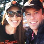 Gooo #SFGiants Beautiful day at #WorldSeries with @BryanKBaskin http://t.co/Ri0lPvvebx