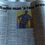 RT @SpencerHowson: Wonderful tribute to @abcgoldcoast and @abcsunshines John Stokes in the @couriermail today (p82) http://t.co/lLlmLNil0v