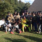 Was awesome doin battle with this crew. Gr8 day UGA Bball. Paintball. PO vs PP vs Strngth dudes. #freeuprosterspots http://t.co/CHxxsYDcoK