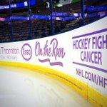 RT @EdmontonOilers: Lavender rinkboards! #HockeyFightsCancer http://t.co/SsQP2uVZe7