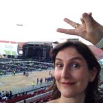 RT @FMDOS: @fimbowie ya está en el #EstadioNacional para ver a @ricky_martin http://t.co/MjgPZWT7C0