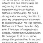 RT @newstalk1010: Statement from Cpl #NathanCirillos father http://t.co/OYDVpRF8Sz