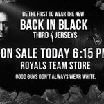 Join the #BackinBlack movement! Victoria Royals 3rd jerseys go on sale in under 2 hours! Tix: http://t.co/ujgOD5gRUw http://t.co/C9uZSdaDfB