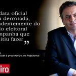 Aécio Neves, candidato à presidência da República. Leia outras frases: http://t.co/7gWXEmBYCu @AecioNeves http://t.co/8eqoPqKX0j