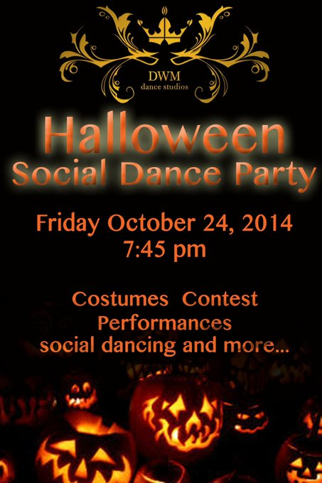 Elena Grinenko  @elenagrinenko: RT @DanceWithMeSO: Don't Miss it! #HalloweenParty at @DanceWithMeSO. Friday Oct 24. New guests get in complimentary. Call (818) 501-7498 ht…