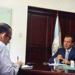 RT @ASinibaldi: En entrevista con @prensa_libre abordando temas de interés nacional. http://t.co/R1GhPpY48v