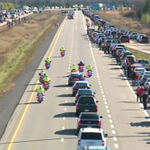 "God Bless Canada!!!.....Nathan Cirillo taking his final journey down the Highway of Heroes home to Hamilton. RIP ""https://t.co/fmHAHIvge8"