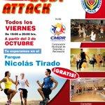 HOY clases de #BodyAttack en el parque Nicolás Tirado #Antofagasta http://t.co/UcwrtWbJEw
