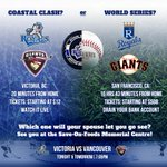 RT @victoriaroyals: Which Royals vs. Giants game will you be at tonight? http://t.co/CTB4TrVbsI