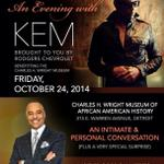 RT @MusicByKEM: Looking forward to tonights event with @EdLGordon at the @TheWrightMuseum in #Detroit! http://t.co/OC0bmnVOCR