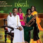 RT @ShashiTharoor: Hilarious American Diwali greeting card showing the Obamas looking very much at home in South Indian garb! http://t.co/el6gffaDAK