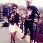 """RT @kevrx: Sheilah Gashumba is back on our TL, coz she had interview w/ wizkid. In a litro* skirt. Wizkids stare says it all http://t.co/DfD17yyUkv"""""""