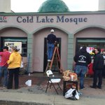 RT @laura_payton: RT @stphnmaher: Aw RT @isaacrosove: #coldlake mosque cleanup well underway as residents pitch in. #yeg @ctvedmonton http://t.co/saJfFiDslh