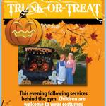 RT @EdCofC: If youre in the Edmond area, please visit us this Sunday night at 5PM for worship & then Trunk or Treat afterwards http://t.co/NeZBmEThQz