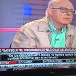 """Mario Waissbluth: """"podríamos tener un nuevo Transantiago con la Ref. Educacional. Pero no nos quieren escuchar"""" http://t.co/C848uqn6Ty"""