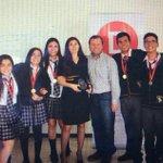 Muchas felicitaciones al equipo del colegio Ñusta Kori #Iquique, ganadores del torneo Delibera 2014 en #Tarapacá. http://t.co/sw9dG4emqY