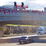 RT @_MikeK19: How can this not make you proud to be Canadian? #highwayofheroes http://t.co/rKPiTV8h6k
