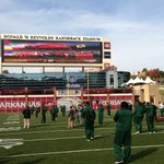 RT @NormReilly: Checking out Reynolds Razorback Stadium at day before walk-through. @UAB_Football vs. Arkansas Sat. at 11am http://t.co/ajhZlt2s2Q