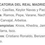RT @GentlemanMadrid: Los 19 convocados para el Real Madrid - F.C.Barcelona. #HalaMadrid http://t.co/bRhutdQm3h