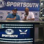 RT @ClayGuffey: Me and Dell Curry at the Buzz Fest. @DC__for3 @hornets #sportsouthbuzz @BringBackTheBuz http://t.co/sswfCRyV5e