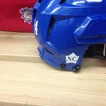 The Bulldogs will wear this decal on their helmets for the rest of the season in honour of Cpl. Nathan Cirillo. http://t.co/3TcOI4MEef