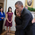 RT @WhiteHouse: Nurse Nina Pham, who recently beat #Ebola, met with President Obama today before heading home. http://t.co/14gr41Qdtc http://t.co/yZClBGqUEM