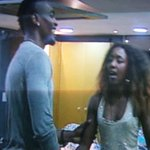 Laveda screaming I love him to Tayo... I feel you Nigeria, I feel you lagos, whats up Abuja ... #BBhotshots *wahala* http://t.co/b74uCJRn5N