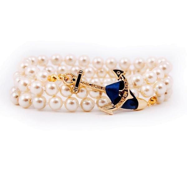 "(MUST BE FOLLOWING) RT to win one of our new ""Jackie O"" anchor pearl bracelets.  5 winners will be announced Sun 11pm http://t.co/4y20MeiD8Y"