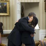 RT @TIME: Obama hugs Nina Pham, nurse who survived Ebola. Photo: @gettyimages http://t.co/U2rxT4XdD6 http://t.co/AJHZZb8WEr