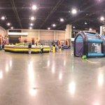 Lots of bouncy house stuff. #BuzzFest http://t.co/ErtYFWEqH9