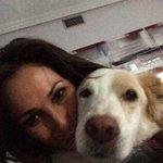 A Danka no le gusta posar!! 😂😂😂 feliz fin de semana familia!! 😘😘😘 http://t.co/lasuNVcgrJ