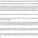 RT @GuerinHays: NEW: JFK & EWR will impose a mandatory quarantine on people flying in who had direct contact with Ebola patients http://t.co/V7HWEbpsT2