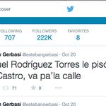 El 20 de octubre, hace cuatro días twitie esto, ahora van por Diosdado http://t.co/Ab3bkI7ck9