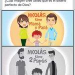 """Jesus dijo: """"Ámense los unos a los otros, como yo los he amado"""" entonces ambos están bien... #nicolastienedospapas http://t.co/l5wIuCkYz8"""