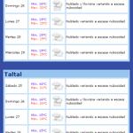 Pronóstico de @meteochile_dmc para este fin de semana. #Antofagasta y #Taltal http://t.co/jYnJgOgFnz