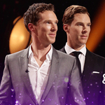 RT @BBCOne: Double vision! Benedict Cumberbatch and Benedict Cumberwax. #TheGNShow http://t.co/G0QNYwJEjB