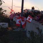 RT @CMarglobal: So powerful. The amount of people here and how quiet it got before the motorcade arrived #Cirillo #highwayofheroes http://t.co/wrR6dzX22W