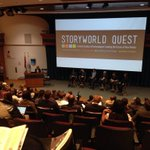 RT @YourAMPIA: Kick-off panel for StoryWorld Quest in #yeg Amazing talent on the stage right now! #SWQ14 @NAIT http://t.co/NyHGEPhqsI