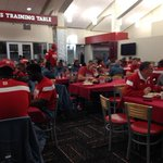 Supper time for the #Huskers http://t.co/cqrtElPgbQ