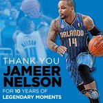 RT @OrlandoMagic: With @jameernelson returning to @AmwayCenter tonight, we wanted to once again thank him! #PureMagic http://t.co/W3hR82LbDa