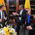 Vicepresidente de Colombia recorre obras de seguridad y de la matriz productiva de Ecuador http://t.co/nHWJWj2H7T http://t.co/QaTYnHgV6I
