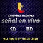 Disfruta @OficialTigres en @TeleAragua en la calidad q te permita tu internet, SD o HD visita http://t.co/TpVjdMrm7F http://t.co/TXqlTQOzoM