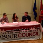 The third annual @HalifaxLabour TROUBLEMAKERS CONFERENCE begins Friday night panel in #Halifax.  #NSpoli #canlab #1u http://t.co/UAInsBY1DY