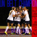 South Alabama Soccer: Sun Belt Regular Season Champions 2014 #JagNation http://t.co/QQEMLQeTEN