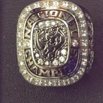 The single-most ostentatious and amazing piece of jewelry I now own. Ready for @El_Paso_Rhinos hockey this weekend! http://t.co/h1DRnpDyPv