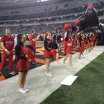 Get a taste of the PBS atmosphere. Were live at 6:54 before UC/USF. http://t.co/jUViAI1iKC via @FOX19Joe