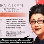 "RT @biswatosh: ""@newsflicks: Happy Birthday to the maker of soulful films http://t.co/M8IjHmxUAD"" @senaparna @konkonas"