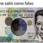 RT @juanda201130: @JFECHEV @HDCANTILLO @AlvaroUribeVel @JuanManSantos este billete me lo metieron falso nadie me lo quiere recibir. ... http://t.co/ySy6TLZGWc