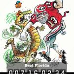 #FloridaHateWeek #GoDawgs #UGA going swamp lizard hunting http://t.co/4RKfk7UQ5l